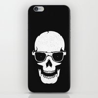 Skull in shades iPhone & iPod Skin
