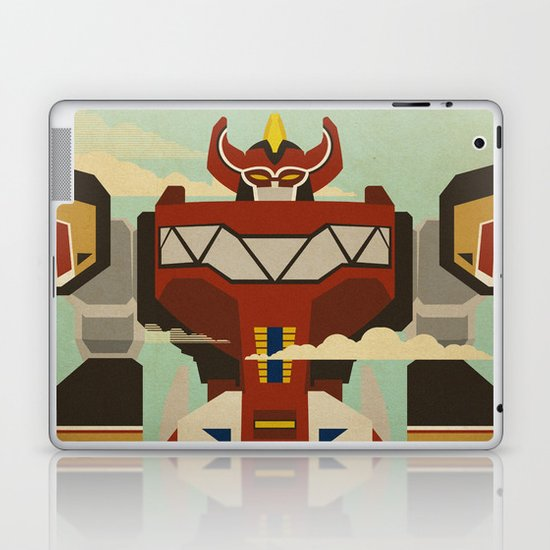 The Mega of the Zords Laptop & iPad Skin