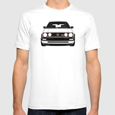 Mk. II GTI SMALL White Mens Fitted Tee