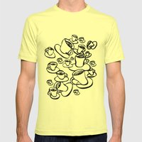 Coffee Mens Fitted Tee Lemon SMALL