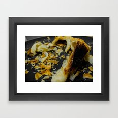 Flakes Framed Art Print