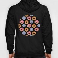 sweet things: doughnuts (black) Hoody
