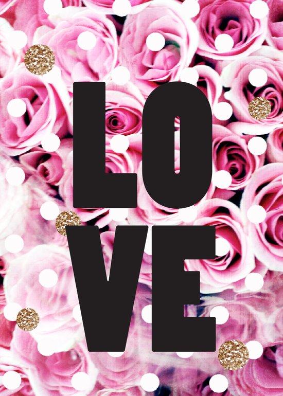 Love in Roses Art Print
