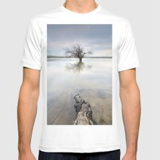 Roots and trees... SMALL White Mens Fitted Tee