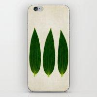 three of a kind 1 iPhone & iPod Skin
