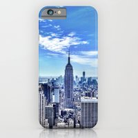 iPhone & iPod Case featuring Empire State from the Rock. by John Martino