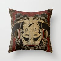 Dragonborn Throw Pillow
