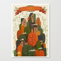 An Fhomhair (Autumn) Canvas Print