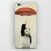 Pandachute iPhone & iPod Skin