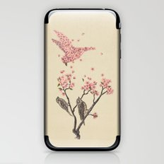 Blossom Bird  iPhone & iPod Skin