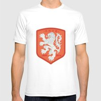 Holland 2014 Brasil Worl… Mens Fitted Tee White SMALL