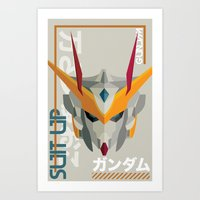 Suit Up // Gundam Art Print