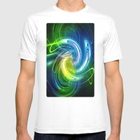 Renewal Mens Fitted Tee White SMALL