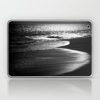 ocean in black and white  Laptop & iPad Skin