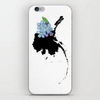 Alaska Silhouette iPhone & iPod Skin