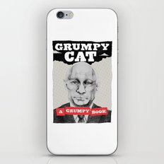 GRUMPY AS THE CAT  iPhone & iPod Skin