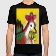Thanksgiving Revenge Tur… Mens Fitted Tee Black MEDIUM