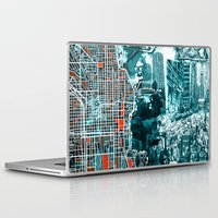 chicago Laptop & iPad Skins featuring chicago by Bekim ART