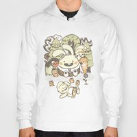 Bunnies And Carrots In T… Hoody