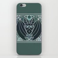 Bat From Transylvania iPhone & iPod Skin