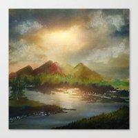 Calling The Sun XVIII Canvas Print