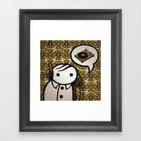 Dj Verge Framed Art Print