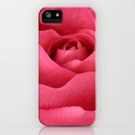 Pepto Rose iPhone (5, 5s) Slim Case