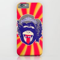 iPhone & iPod Case featuring Queen Kong by justlikeandy.co.uk Andy Warhol-style