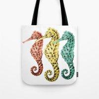 SeaHorses Tote Bag