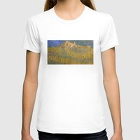 Erebor, The Lonely Mountain Womens Fitted Tee White SMALL