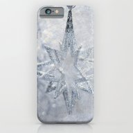 Silver Stars Ornament iPhone 6 Slim Case