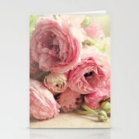 the first bouquet Stationery Cards