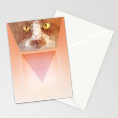 Triangle Cat Stationery Cards