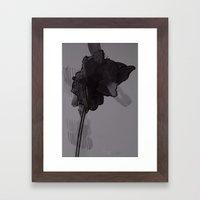 leaf twelve Framed Art Print