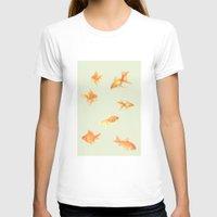 fish T-shirts featuring Fish by Dora Birgis