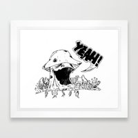 YeahMush Framed Art Print