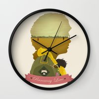 Runaway Love Wall Clock