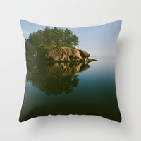 Matia Island, WA Throw Pillow
