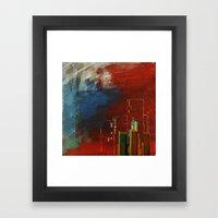 Death Of Detriot - Skyli… Framed Art Print