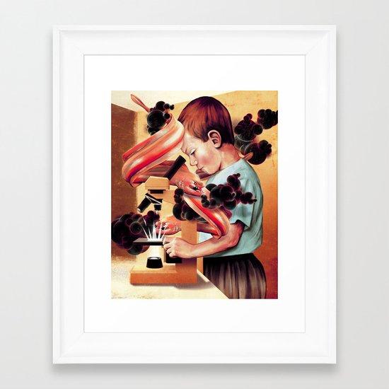 Next Door Framed Art Print