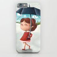 iPhone & iPod Case featuring Happy umbrella by Arianna Usai