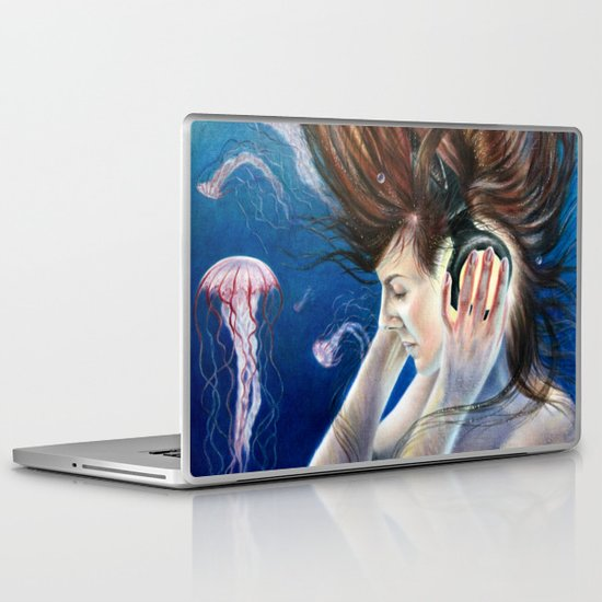 Deep Sounds Laptop & iPad Skin