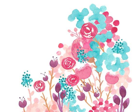 Blush Blossoms Art Print