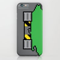 iPhone & iPod Case featuring Teenage Mutant Ninja Pixels by Eric A. Palmer