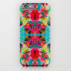 Tropical Floral Slim Case iPhone 6s