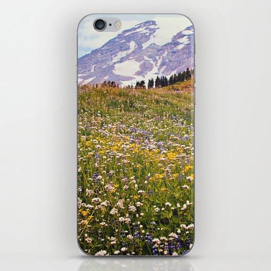 Rainier Flowers iPhone & iPod Skin