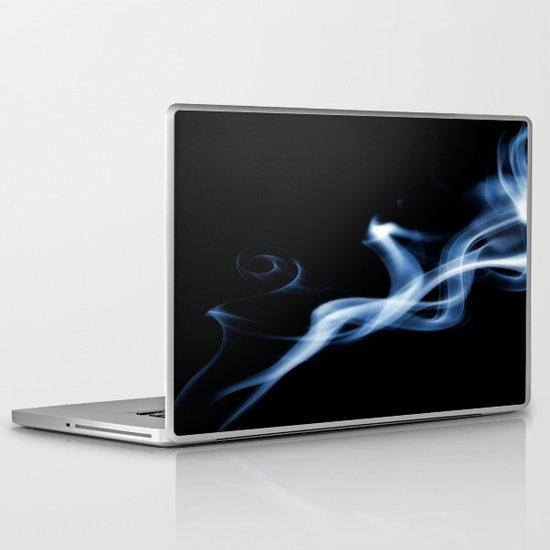 Smoke Art Abstract 5 Laptop & iPad Skin