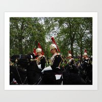 On Parade Art Print