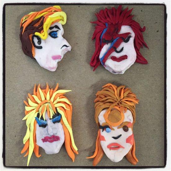 Bowie Lives! Art Print