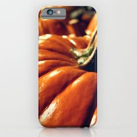 iPhone & iPod Case featuring Shiny Pumpkins by ettible